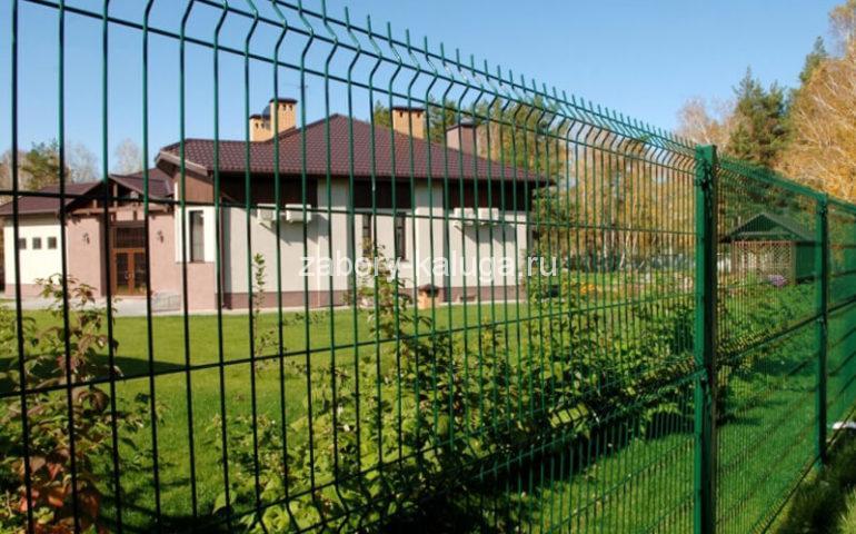 3д забор в Калуге