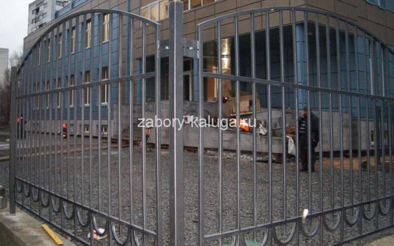 забор из профтрубы в Калуге